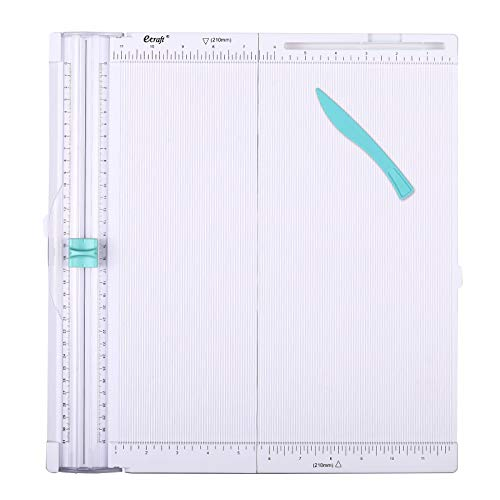 Ecraft Paper Trimmer Scoring Board: 12 x12 inch Craft Paper Cutter - Folding & Scorer for Cover of Book & Gift Box and Photo etc