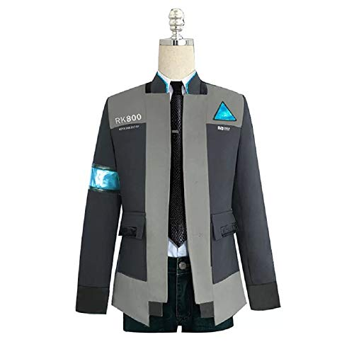Joyfunny Become Human Connor Jacket Halloween Cosplay Costume Coat Uniform Suit L by Joyfunny (Image #1)
