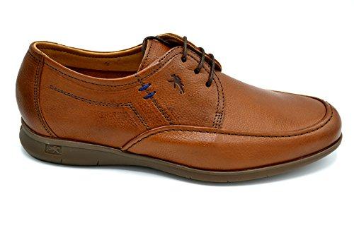Fluchos 9378 Camel - Zapato de verano con cordones