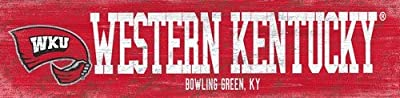 Fan Creations Western Kentucky Team Name Sign, Multicolored