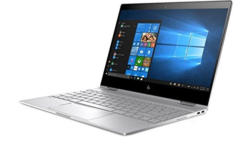 2018 HP Spectre Touch x360 13t-ae00 Silver Convertible 8th Gen Quad Core Intel i7 up to 4.0GHz 16GB 512GB SSD 13.3in FHD Gorilla Glass (Renewed)