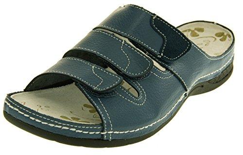 y de para para traje Funda mujer tamaño mujer piel de la o de de 4 espacios pantallas neopreno de de pedrería 5 Sz zapatos marino funda para Comfy azul azul Velcro 8 6 planas mujer enfriadores 7 xwXtvq0zt
