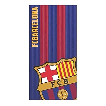 FCB F.C. BARCELONA Toalla de Baño y Playa de Microfibra. 70x140 cm. Barça 161