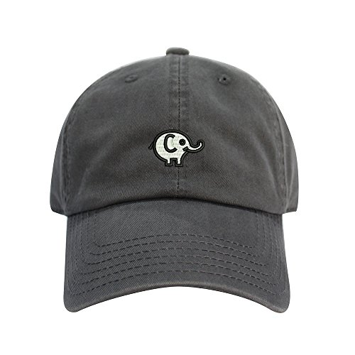 Jual Elephant Dad Hat Cotton Baseball Cap Polo Style Low Profile 12 ... 584716c8b548