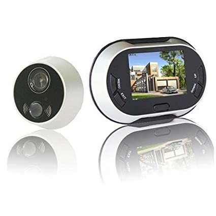 LERWAY 3.5 inch 170 degrees Wide Angle Peephole TFT LCD Digital Door Viewer Doorbell Security Camera  sc 1 st  Amazon.com & LERWAY 3.5 inch 170 degrees Wide Angle Peephole TFT LCD Digital Door ...