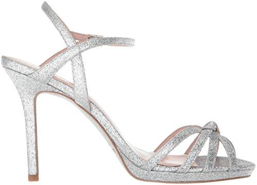 Kate Spade New York Women's Florence Heeled Sandal, Silver Thin Glitter, 7 Medium US by Kate Spade New York (Image #6)