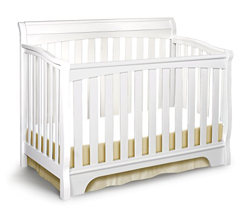 Delta Children Eclipse 4-in-1 Convertible Baby Crib, White Review