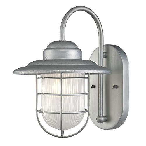 Slvr Series - Millennium 5390-GA One Light Wall Bracket, Pwt, Nckl, B/S, Slvr.