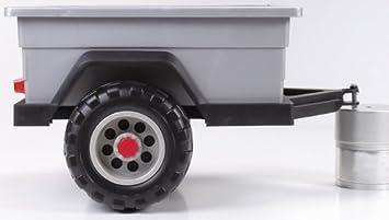 Peg Perego TR0804 - Anhänger für 12V Gaucho Rockin: Amazon.de: Spielzeug