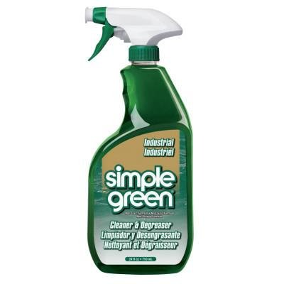 - Simple Green Industrial Cleaner/Degreasers, 24 oz Spray Bottle