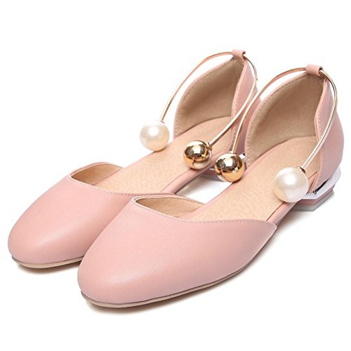 D'Orsay Shoes Pink Women's Fashion TAOFFEN nxqA1n
