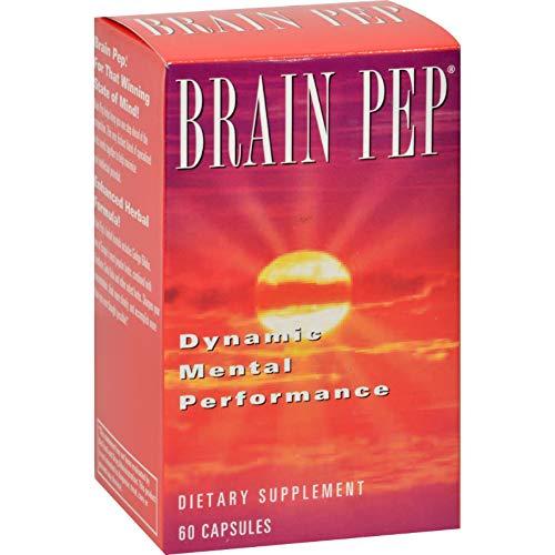 Natural Balance Brain Pep - 60 Capsules