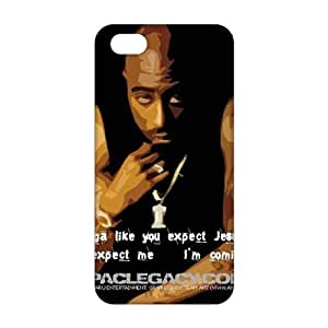 Diy Yourself 2015 Ultra Thin tupac amaru shakur 3D cell phone FPRbBGpIXSh case cover and Cover for iPhone 6 4.7