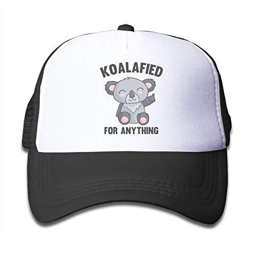 zengjiansm Gorras béisbol Pink Mesh Baseball Caps Adjustable Toddler Hats Koala Fied For Anything Unisex