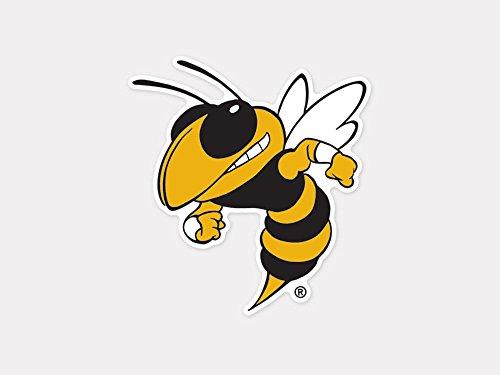 Yellow Jackets Team Logo Decal - 3