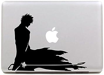 site réputé cdd53 a68ec Vati Feuilles Art amovible peau NARUTO vinyle autocollant Decal noir pour  Apple Macbook Pro Air Mac 13
