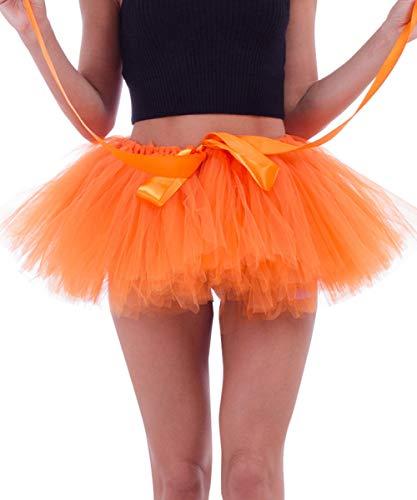 Jupon Tulle Tutu Femme Ballet Dguisement Jupe Bouffant Extensible Vintage Fte Carnaval Soire Jupettes Pliss Cocktail Cadeau Noel Nouvel an Taille 65-100CM Longue Jupon 25CM Photo 6