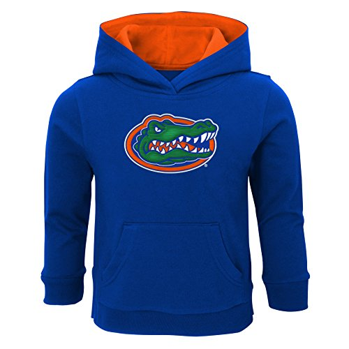 "NCAA by Outerstuff NCAA Florida Gators Toddler ""Prime"" Fleece Pullover Hoodie, Royal, 2T"