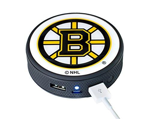 UPI Marketing NHL Boston Bruins Remote Phone Charger, Black