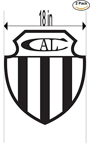fan products of Club Atletico Liniers de Bahia Blanca Argentina Soccer Football Club FC 2 Stickers Car Bumper Window Sticker Decal Huge 18 inches