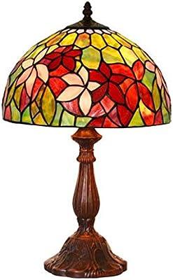 Lámpara De Mesa Victoriana De Estilo Tiffany, Lámpara De ...