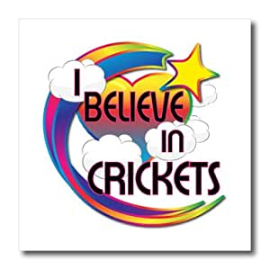 ht_166393_2 Dooni Designs - Believe In Dreamy Belief Designs - I Believe In Crickets Cute Believer Design - Iron on Heat Transfers - 6x6 Iron on Heat Transfer for White Material