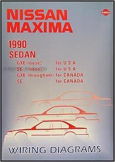 [EQHS_1162]  1990 Nissan Maxima Wiring Diagram Manual Original: Nissan: Amazon.com: Books | 1990 Nissan Maxima Wiring Diagram |  | Amazon.com