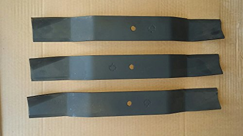 Worksaver FM560 Rear Discharge Finish Mower Blades Set of 3 Code 651065 ()