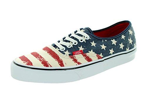 Vans Authentic (americana Kleid Blues) Skate-Schuhe