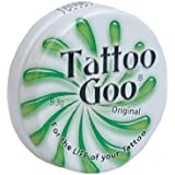 Tattoo Goo Original Travel Size Tattoo After Care, Natural Tattoo Balm with Beeswax and Cocoa Butter, Soothing Tattoo Ointmen