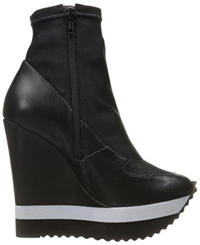Ruthie Davis Women's ISSA Fashion Sneaker, Black, 6 M US