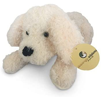 Stuffed Soft Cuddly Plush Animal Toy Dog. Excellent Gift Item for Shower, Baby or Toddler.