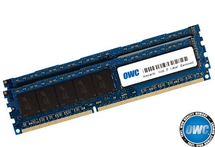OWC 16.0 GB (2 x 8GB) PC8500 DDR3 ECC 1066 MHz 240 pin DIMM Memory Upgrade Kit For 2009 Mac Pro and Xserve by OWC