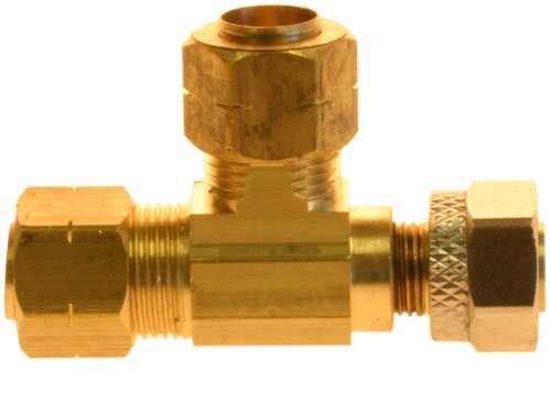 Plumber's Choice 90702 3/8-Inch Adapt-a-Valve Compression Fitting with Less Compression Nuts by Plumber's Choice