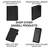 Samsill Professional Resume Padfolio with Secure