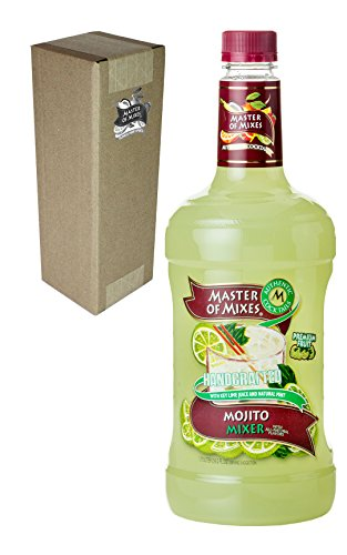 Master of Mixes Mojito Drink Mix, Ready To Use, 1.75 Liter Bottle (59.2 Fl Oz), Individually Boxed]()