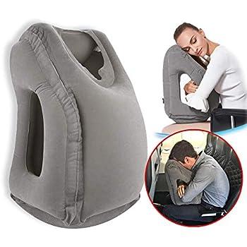 Amazon Com Povinmos Travel Pillow Inflatable Portable