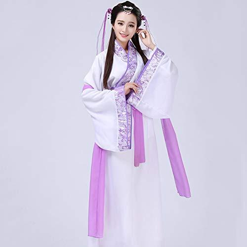 WHFDHF Dress Dancer Kostuum Hanfu Klassieke Dans Kleding Prestaties Kleding Prinses Kostuum 3 Kleuren S-XXL Dl2855 -