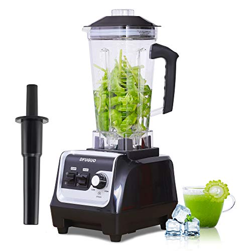 Professional Blender, Countertop Blender for Kitchen with Max 1800-Watt and Variable Speed for Smoothies, Ice and Frozen…