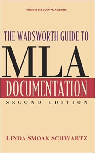 amazon com the wadsworth guide to mla documentation mla update