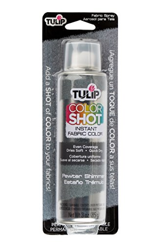 Tulip Color Shot Instant Fabric Color 3Oz Pewter Shimmer (Fabric Pewter)