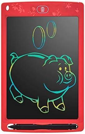 DXMドローイングタブレット MRTU 8.5インチカラー液晶タブレット子供LCD電子図面ボード(グリーン) (Color : Red)