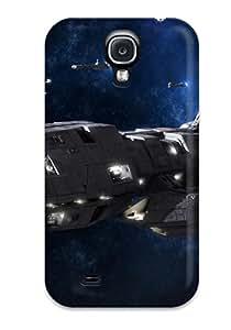 Galaxy S4 Case Cover - Slim Fit Tpu Protector Shock Absorbent Case (pegasus Battlestar Galactica) 4646750K39929083