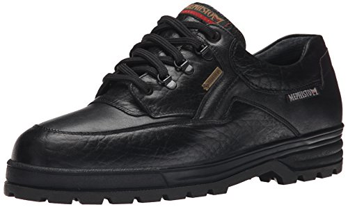 Mephisto Hombres Barracuda Oxford Black Grain / Smooth