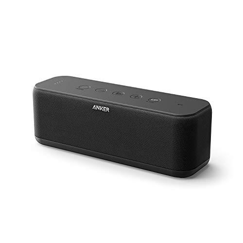 Anker SoundCore Boost Bluetooth luidspreker, 20 W bluetooth-luidspreker met bassuptechnologie, IPX5 waterbestendig, 12…