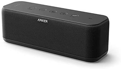 Upgraded, Anker Soundcore Increase Bluetooth Speaker with Nicely-Balanced Sound, BassUp, 12H Playtime, USB-C, IPX7 Waterproof, Wi-fi Speaker with Customizable EQ by way of App, Wi-fi Stereo Pairing