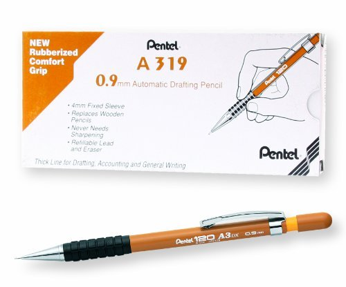 Pentel, Metallic, Metallic Violet, 1.3mm, Extra Thick, 4 Leads Per Tube, sold as a pack of 2 tubes