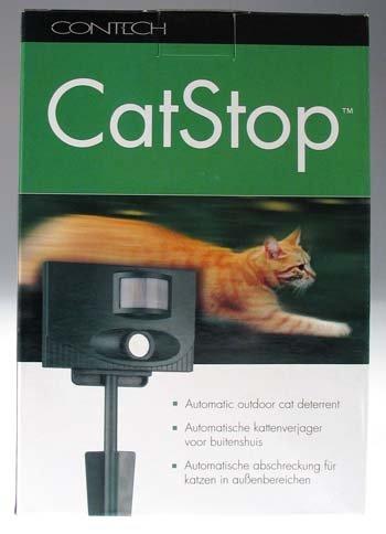 Contech Cat Stop Ultrasonic Cat Deterrent by Contech