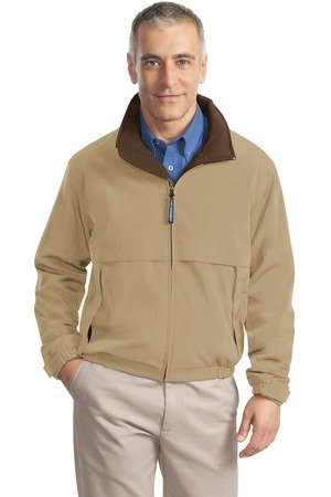 Port Authority Legacy Jacket. J764 XL Khaki/Nutmeg (J764 Legacy Port)