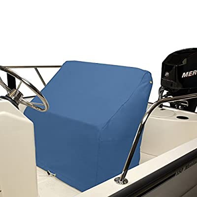 """Budge Small Boat Bench Seat Cover Fits a Small Boat Bench Fits 22"""" Long x 37"""" Wide x 35"""" High, BA-11 (Blue)"""